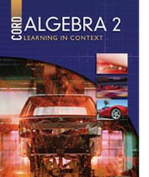 cover of algebra2 - 1st edition textbook